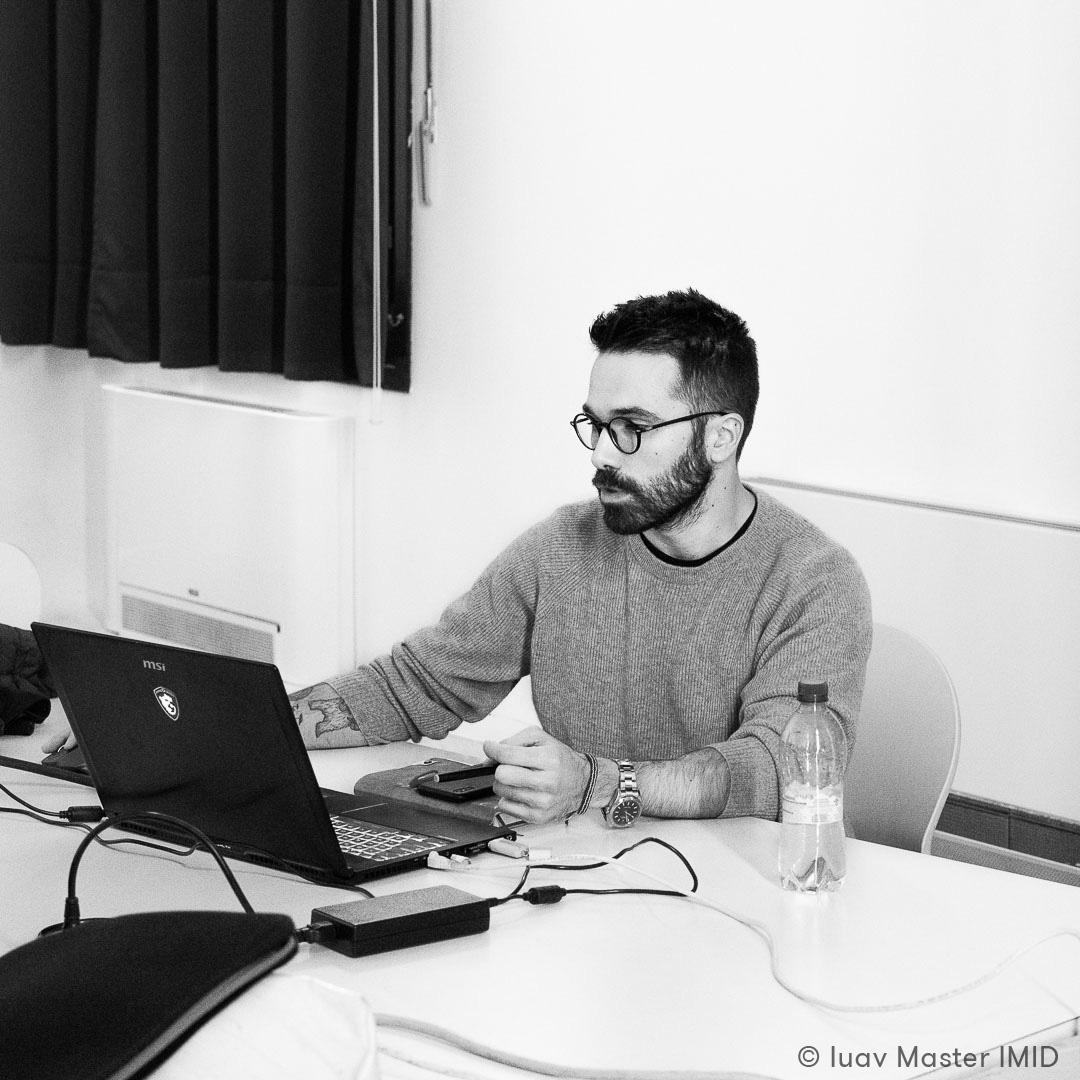 iuav master IMID lezione modellazione 3D avanzata lorenzo zaccarin