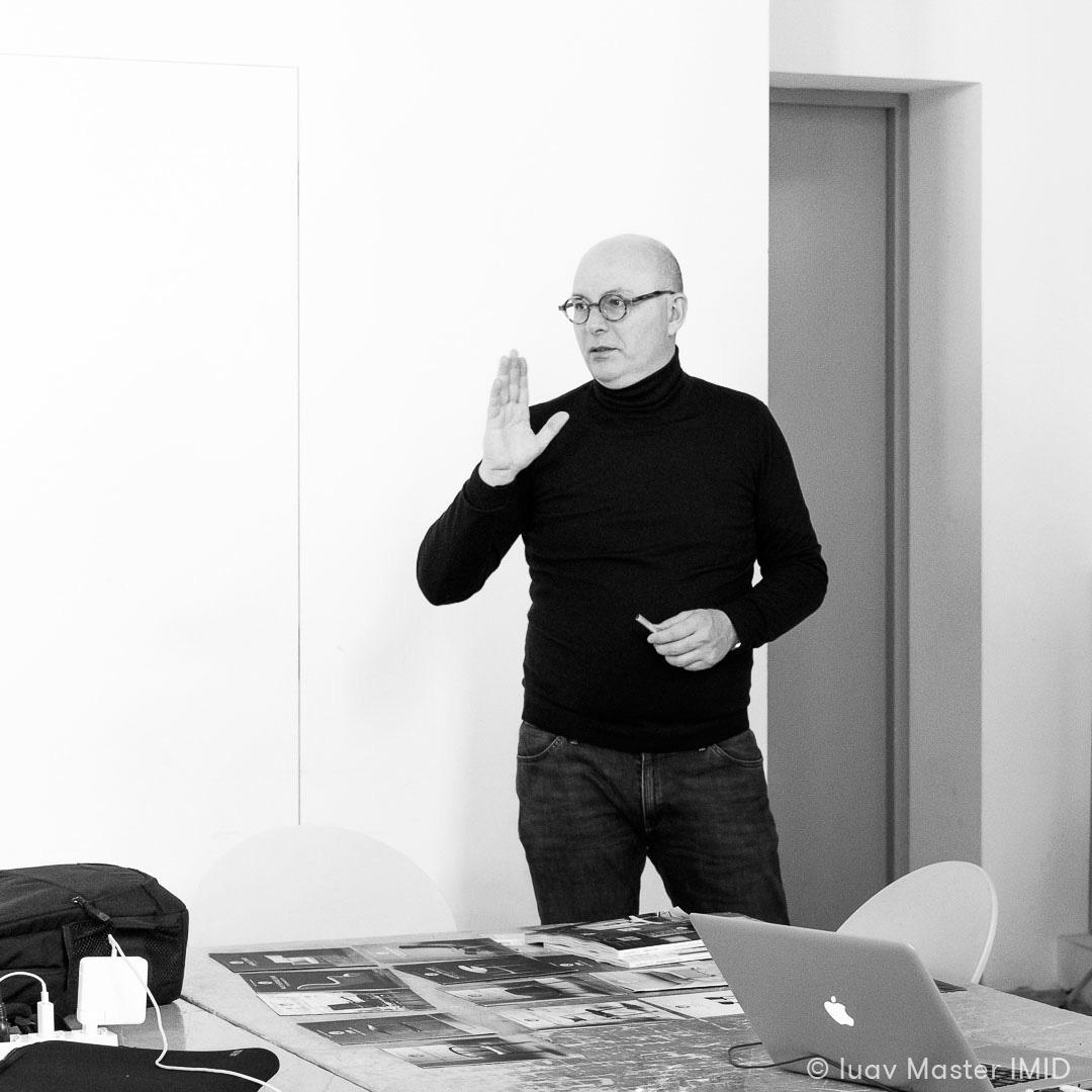 iuav master IMID lezione interior design giovanni siard