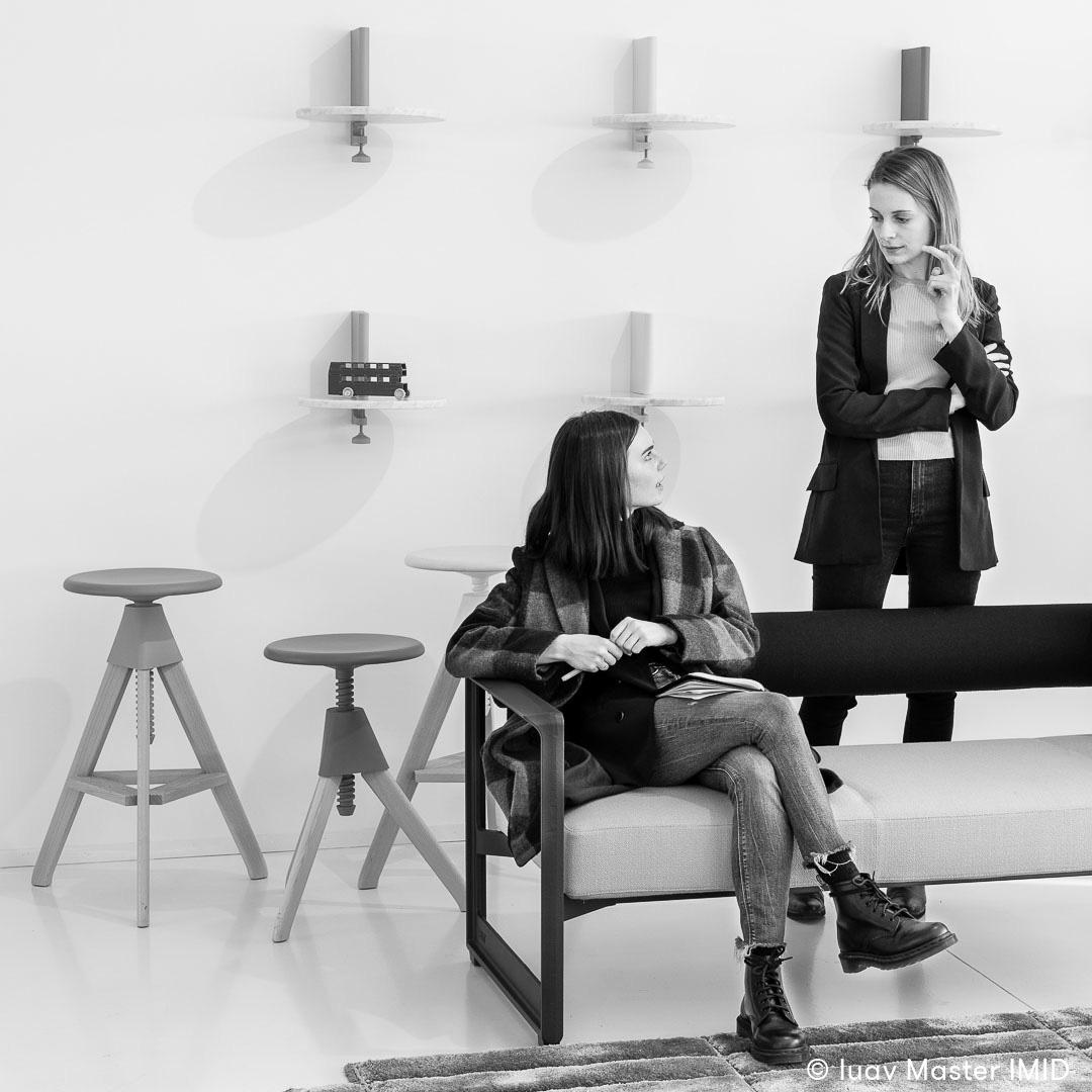 iuav master IMID visita showroom headquarter Magis studenti konstantin grcic stool