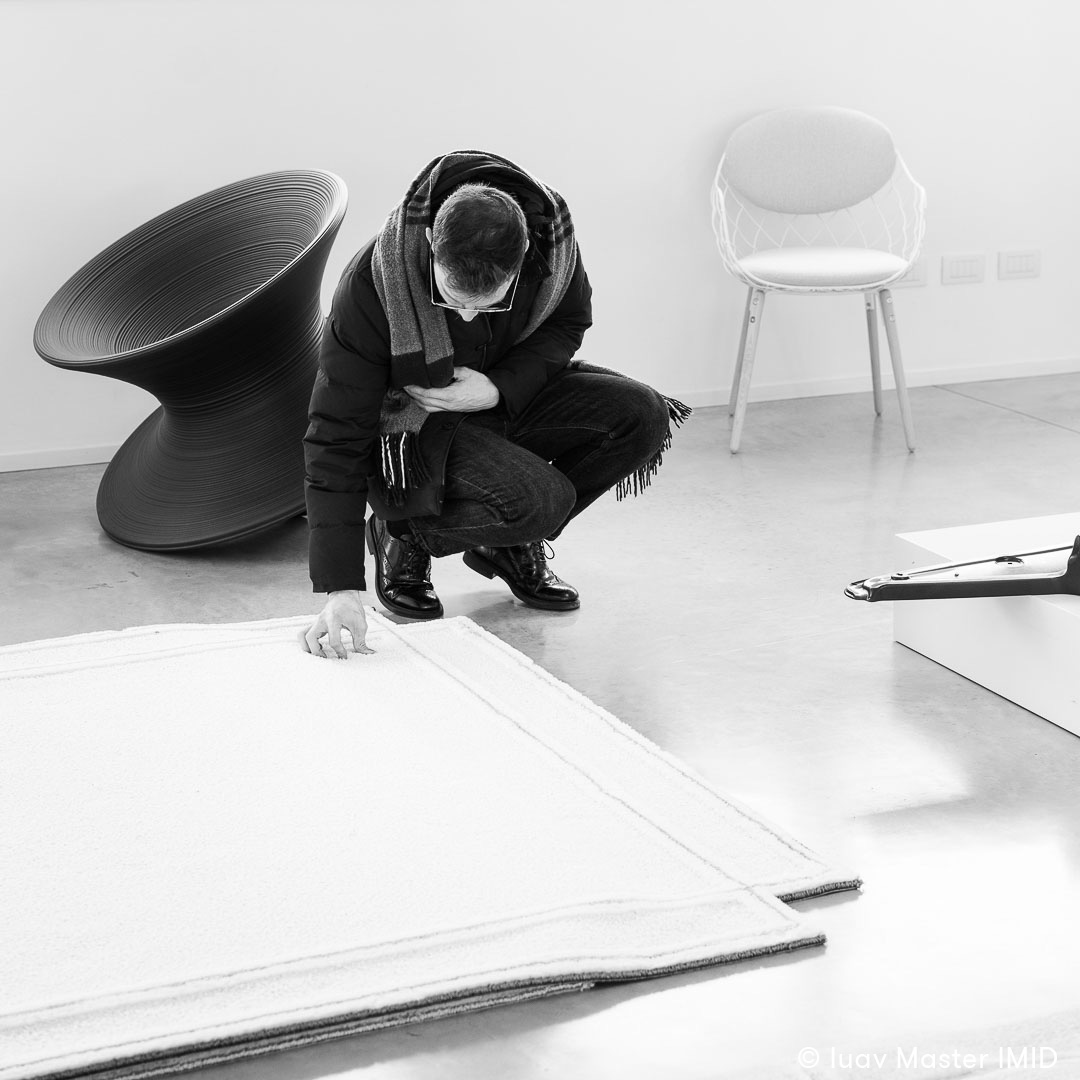 iuav master IMID visita azienda Magis partner progetto interior design studenti