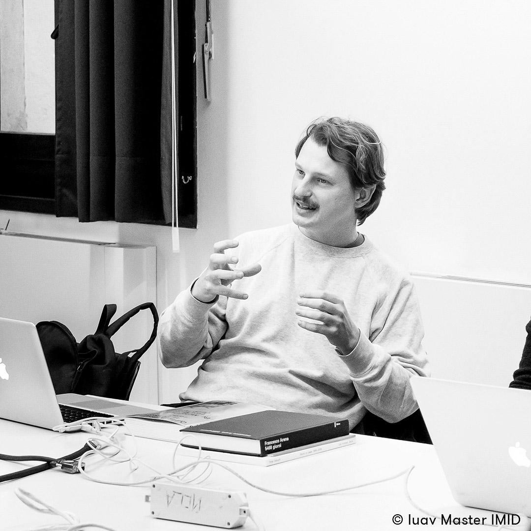iuav master IMID comunicazione visiva guest lecture lorenzo mason
