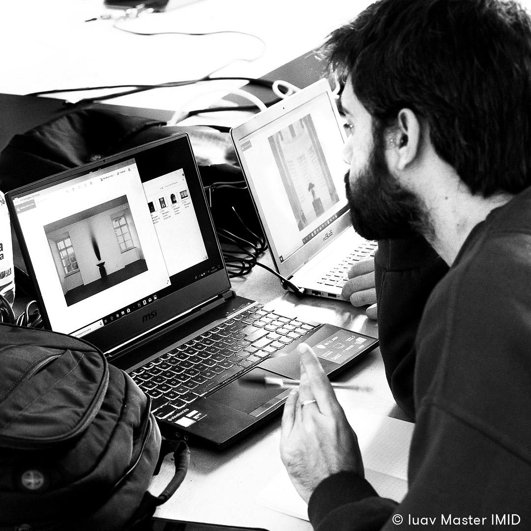 iuav master IMID esercitazione teoria dell'immagine studenti