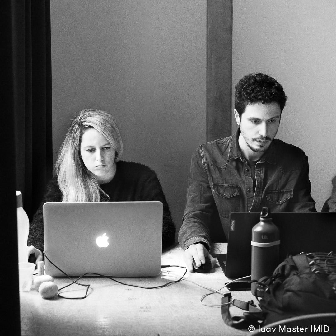 iuav master IMID esercitazione rendering e post-produzione studenti