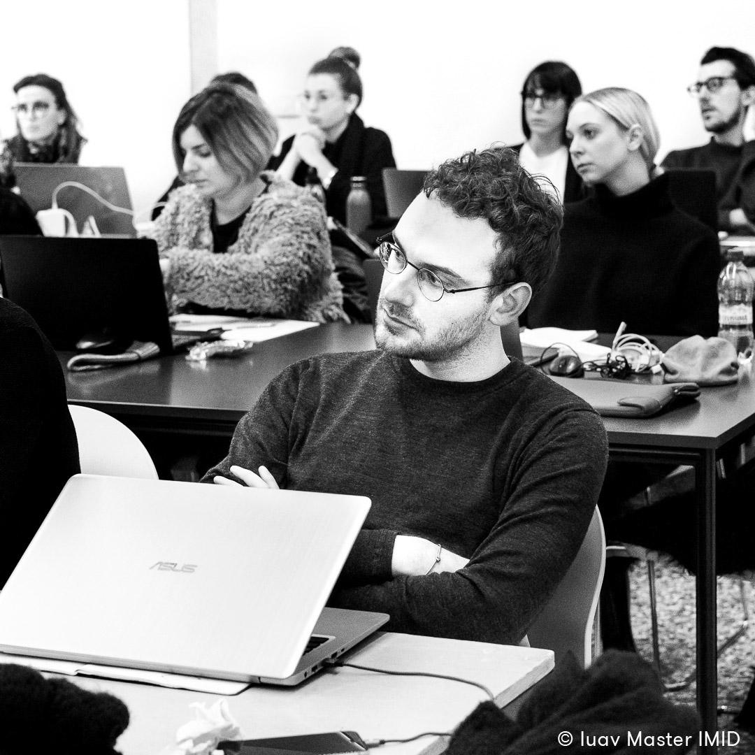 iuav master IMID lezione teoria dell'immagine studenti