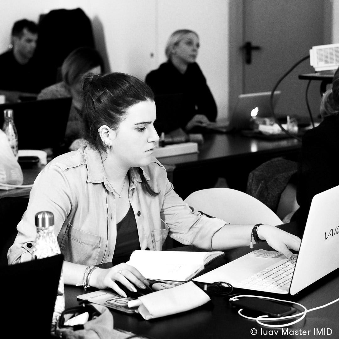 iuav master IMID esercizi in aula modellazione 3D studenti