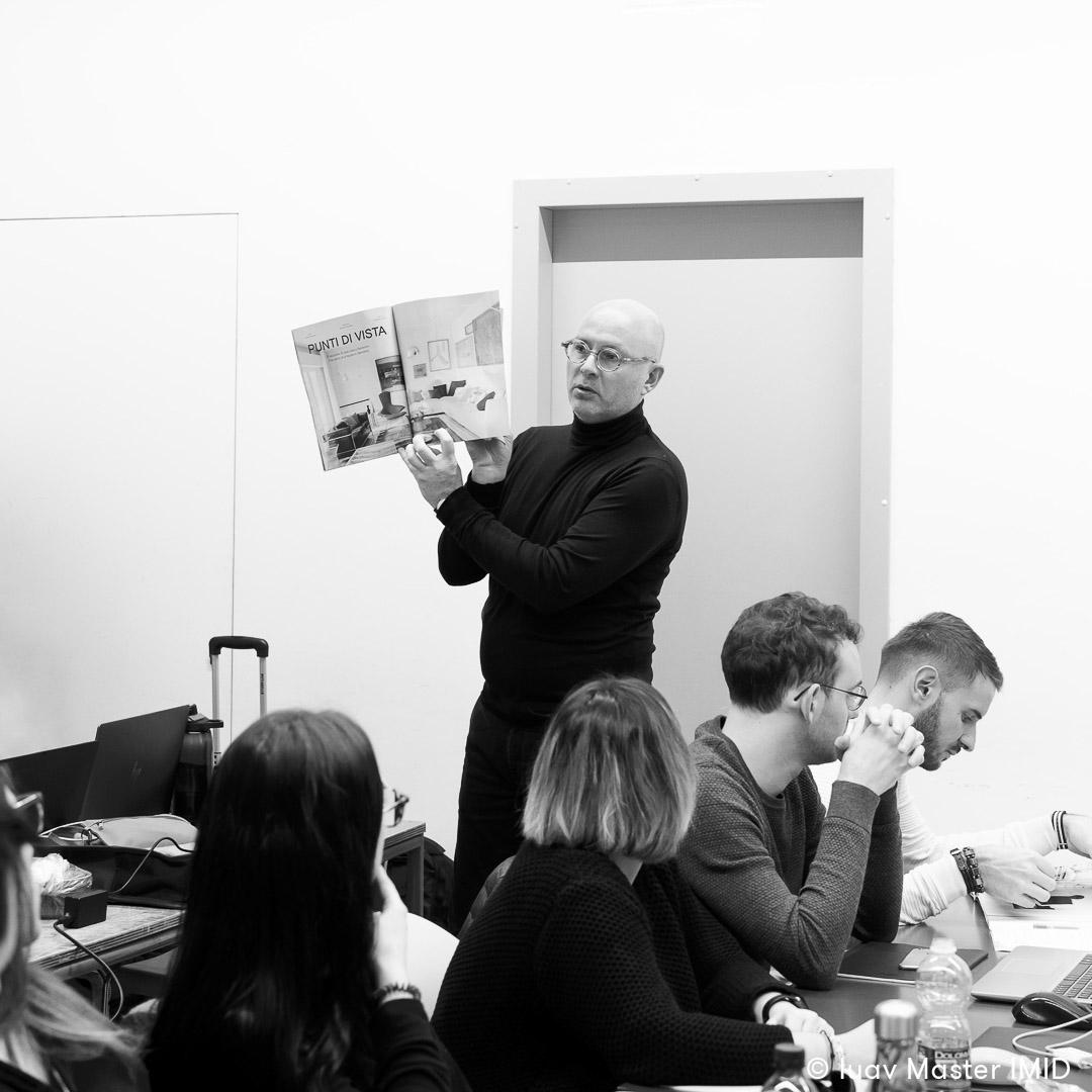 iuav master IMID lezione interior design giovanni siard riviste