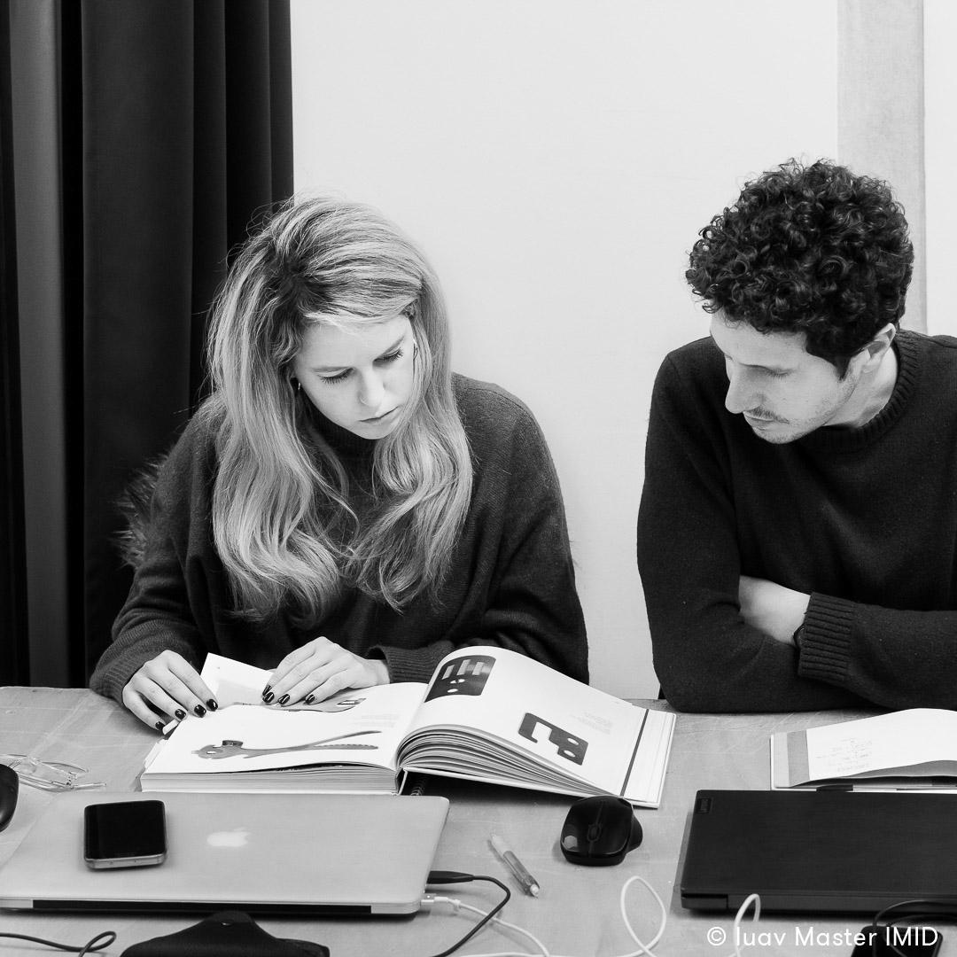 iuav master IMID lezione interior design libri di design studenti