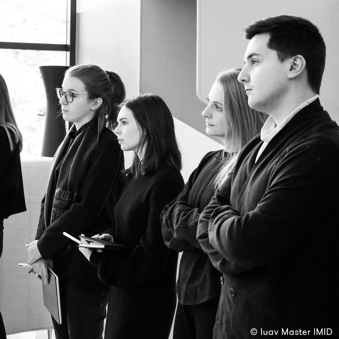 iuav master IMID campus Ambiente Ufficio lezione in azienda studenti