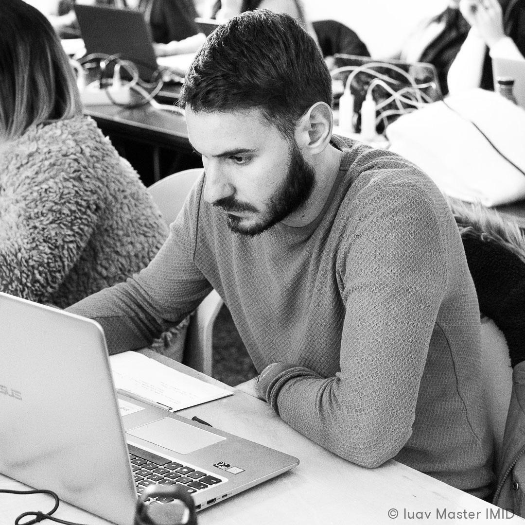 iuav master IMID lezione rending e post-produzione studenti