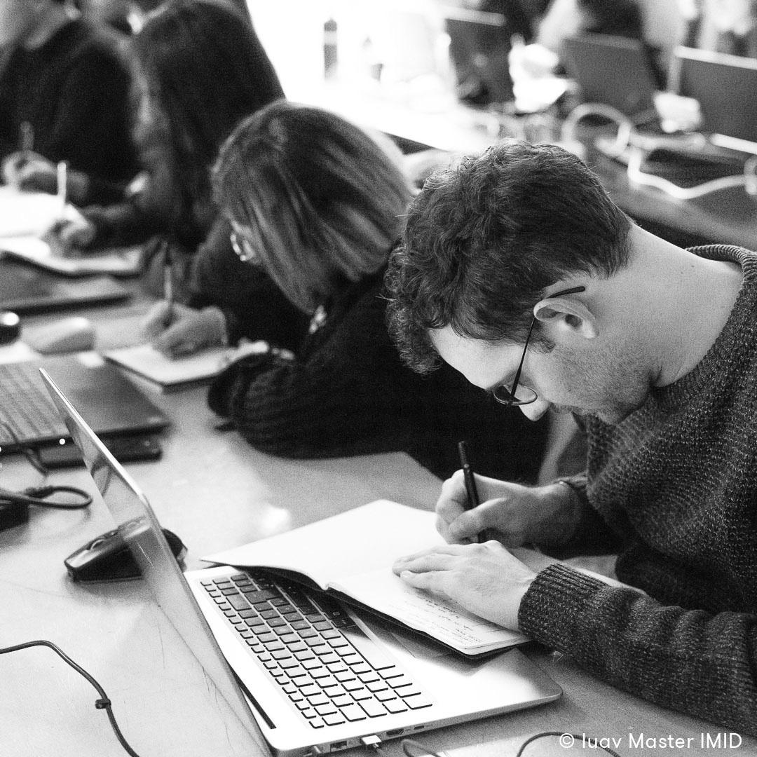 iuav master IMID lezione rendering e post-produzione studenti